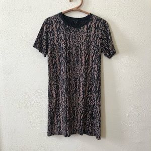 Theory Abstract Knit Dress M